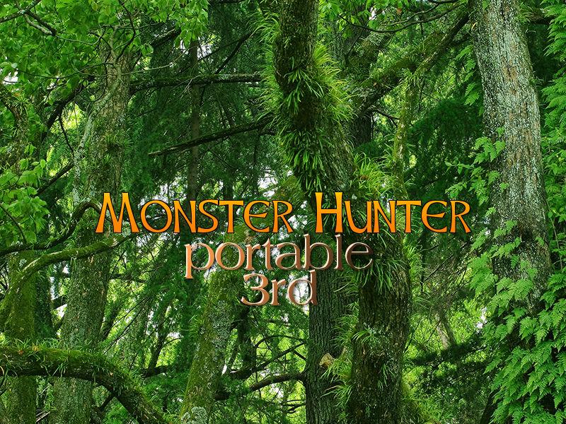 モンスターハンターポータブル3rd(PSP)感想・レビュー