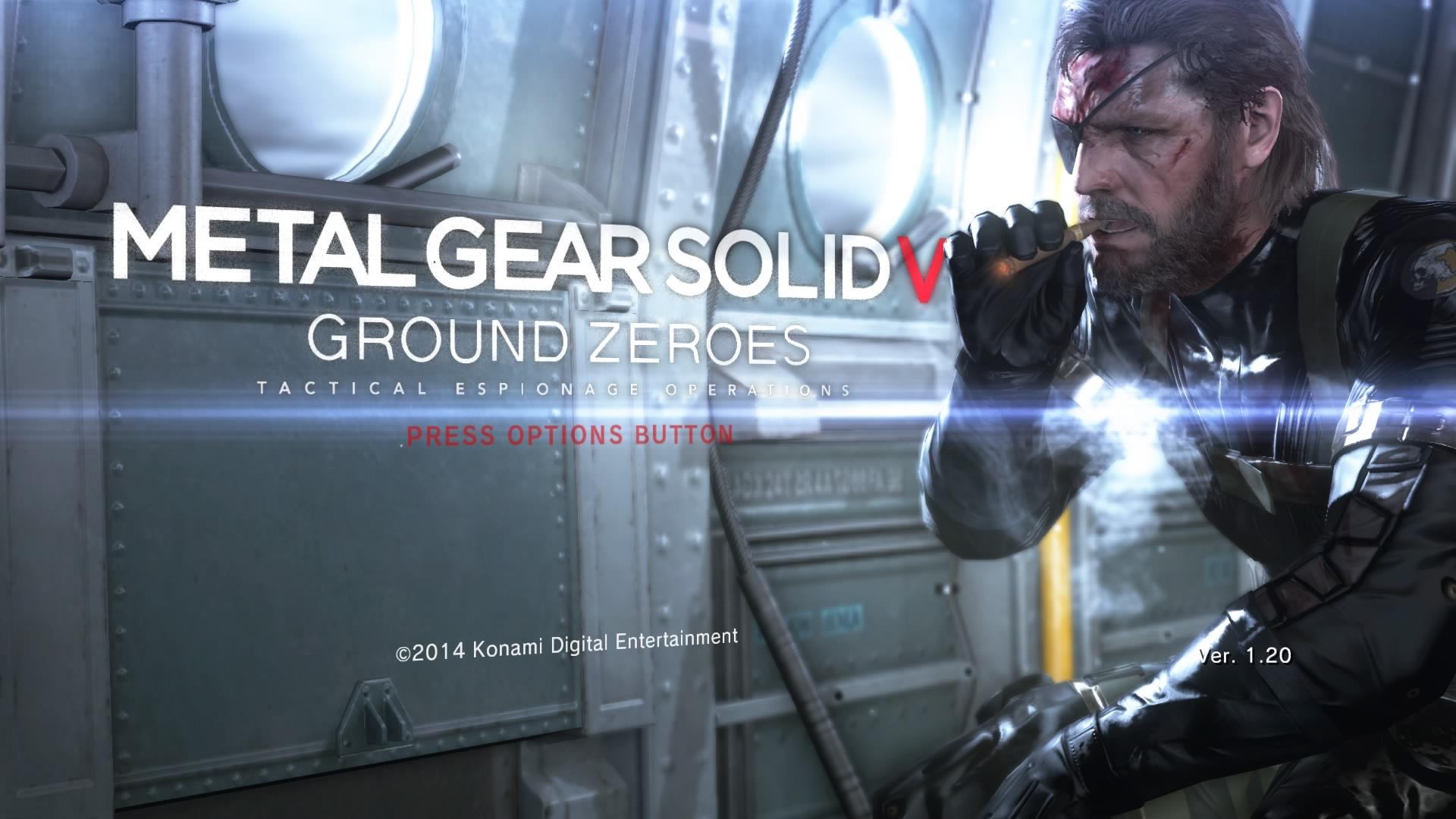 メタルギアソリッド5GROUND ZEROES(PS4)感想・レビュー
