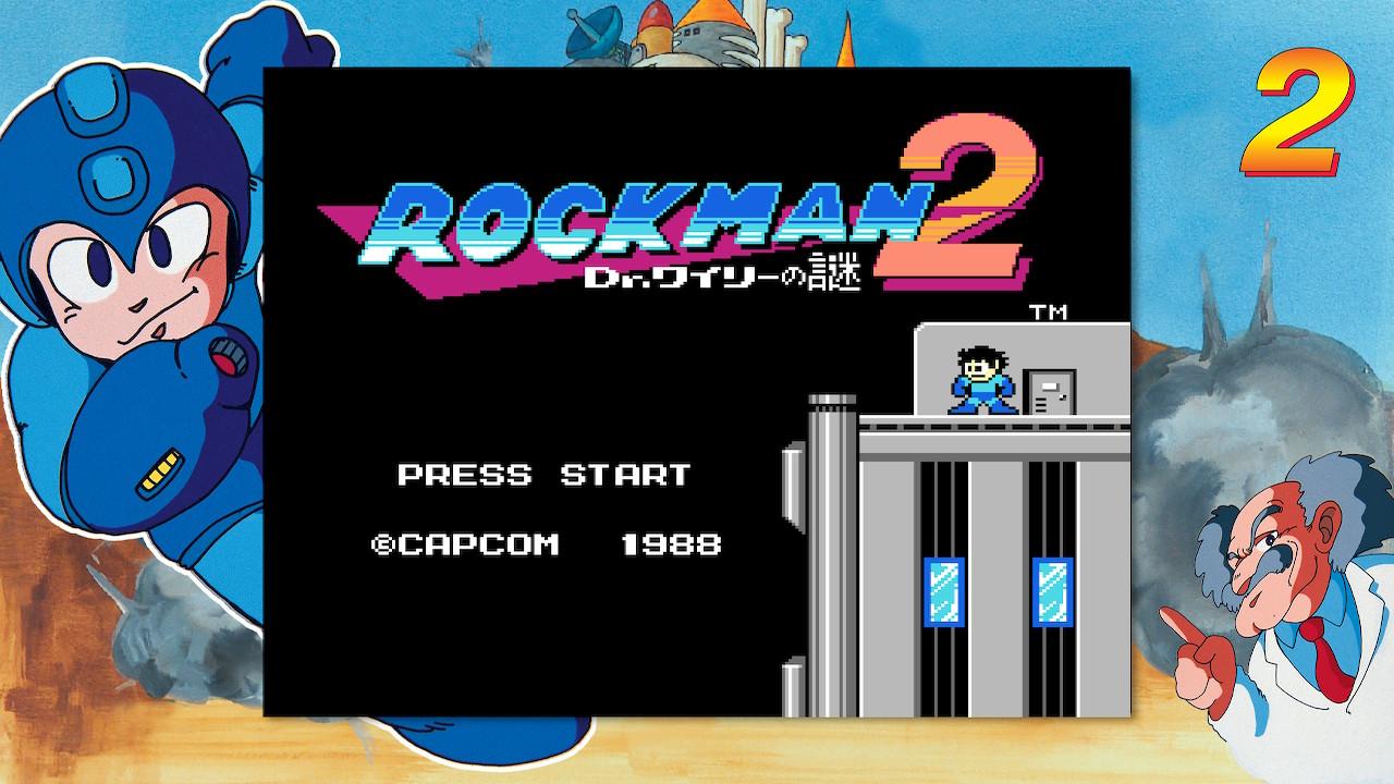 ロックマン2(Switch)感想・レビュー