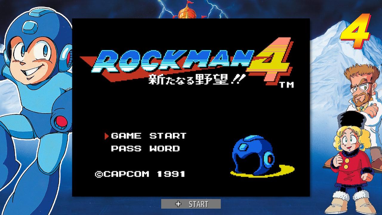 ロックマン4(Switch)感想・レビュー