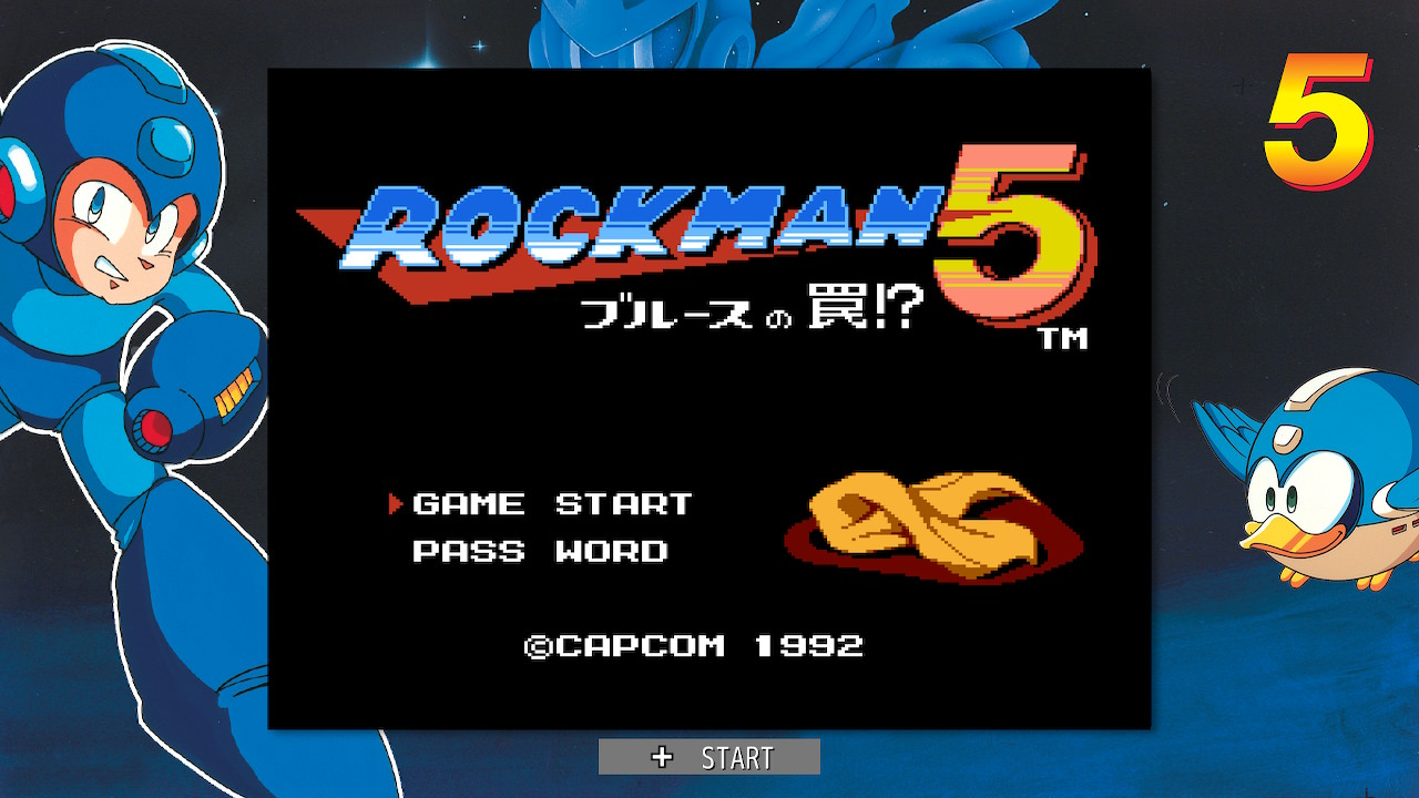 ロックマン5(Switch)感想・レビュー