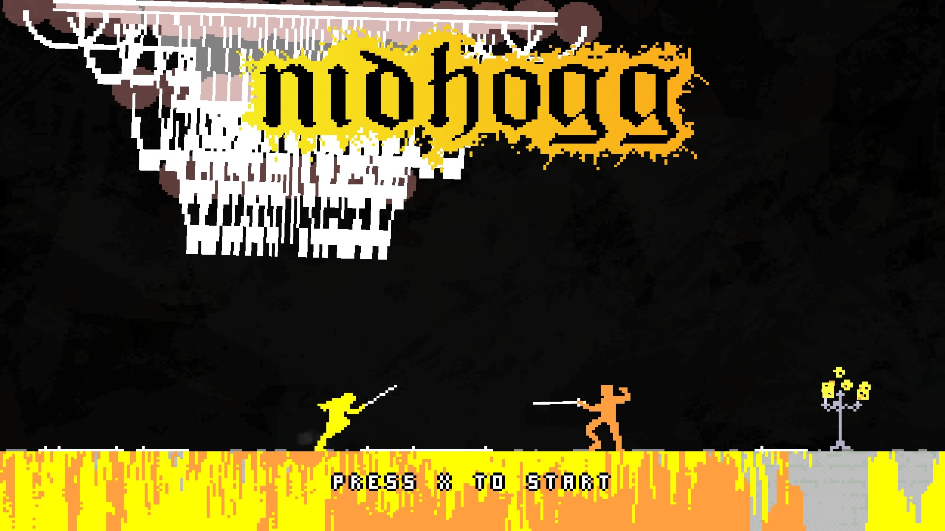 Nidhogg(PS4)感想・レビュー