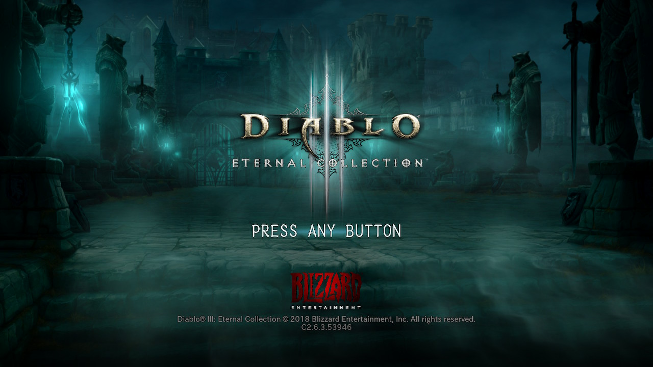DIABLO3ETERNAL COLLECTION(Switch)感想・レビュー