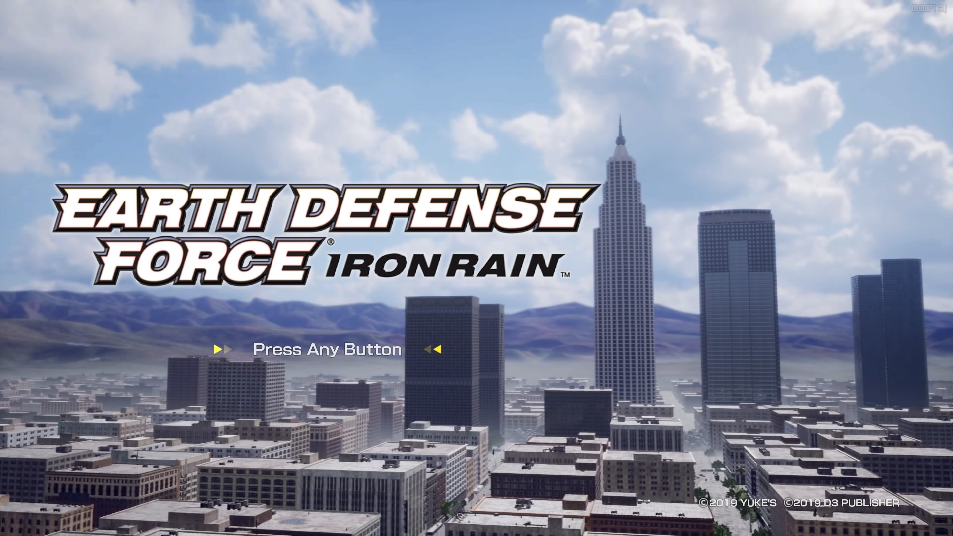 EARTH DEFFENSE FORCE IRON RAIN(PS4)感想・レビュー