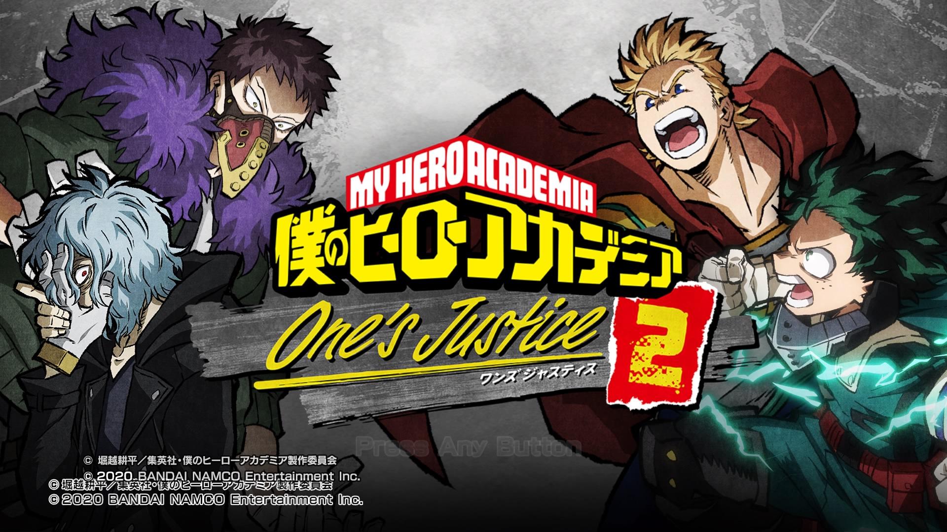 僕のヒーローアカデミア One's Justice2(PS4)感想・レビュー